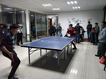 The second session of the table tennis competition
